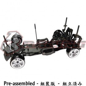 3racing Sakura D4 1/10 Drift Car(RWD - Sport Black edition)- Pre-assembled - 3Racing KIT-D4ARWDS/BK