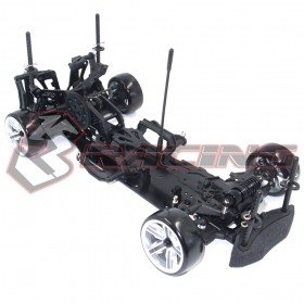 3racing Sakura D4 1/10 Drift Car(RWD) - Sport Black Edition - 3Racing KIT-D4RWDS/BK