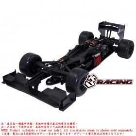3racing Sakura FGX2018 1/10 Formula 1 EP Car - KIT-FGX-EVO2018/CL