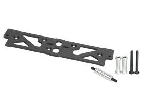 AXIAL AX10 Scorpion Chassis Graphite Battery & Servo Plate - 3RACING AX10-18/WO