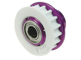 Hot Bodies Cyclone Sport Version /Racing Version AluminiumCentre One Way - Purple Color - 3Racing CY-18/PU