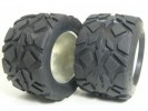 HPI Savage 21 /Savage 25 JAE 40 Series Tire W/ Tire Insert (Fit for ALL 1/8 MONSTER TRUCK) - 1 Pair - 3Racing HSA-032