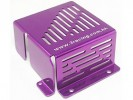 Tamiya F350 HILUX Alumium Fuel Tank Protection Case For Savage - Purple - 3Racing HSA-021/PU