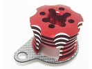 Kyosho Mini Inferno Speed Control Engine Heatsink - Red/SSG - 3Racing MIF-020/RE/SG