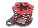 Kyosho Mini Inferno Speed Control Engine Heatsink - Red Color Half8 - 3RACING MIF-020/RE/WO