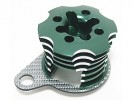 Kyosho Mini Inferno Speed Control Engine Heatsink - Green Color W/ SSG Graphite Half8 - 3RACING MIF-020/GR/SG