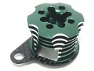 Kyosho Mini Inferno Speed Control Engine Heatsink - Green Color Half8 - 3RACING MIF-020/GR/WO