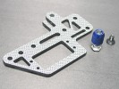 Kyosho Mini Inferno /Kyosho Mini Inferno ST SSG Graphite Steering Servo Plate - 3Racing MIF-046/SG