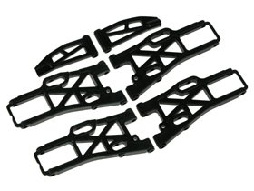 Kyosho Mini Inferno ST Upper And Lower Supension Arm Set - 3RACING MIF-ST07