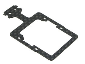 Kyosho Mini-Z MR-015 Replacement Graphite Lower Plate Ver. 2 For #KZ-06/V2/WO - 3Racing KZ-06RL/WO