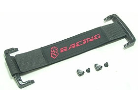 3RACING Sub-C Battery Straps Socket - Red - 3RAC-BB01/RE