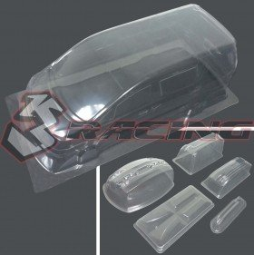 3RACING Toyota Alphard MK1 Body and Light Case Set (Clear) - LBD-ALPA
