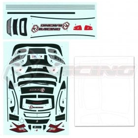 3RACING MK9F Sticker and Masking - LBD-MK9FB