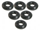 3RACING Aluminium Shock Tower Shim (6pcs) - Black - 3RAC-WFS820/BL