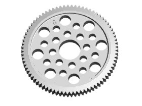 3RACING 48 Pitch Spur Gear 78T - 3RAC-SG4878