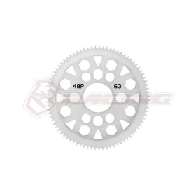 3RACING 48 Pitch Spur Gear 63T - 3RAC-SG4863