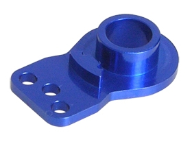 3RACING Aluminium Servo Arm Servo Saver Horn-Double Hole- Blue For Tamiya - 3RAC-HTD30/BU