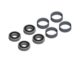 3RACING 10 x 11 x 4mm Spacer - 3RAC-AD12/V2E