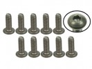 3RACING #4-40 x 5/16 Titanium Button Head Hex Socket - Machine (10 Pcs) - TS-BS4516M