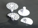 Tamiya F104 Rim Cover Set - 3RACING F104-19