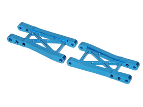 Tamiya GT-01 GT01 Aluminium Rear Suspension Arms - Light Blue Color - 3RACING GT-07/LB