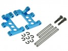 Tamiya M03 /M03L /M03M /M04L /M04M /M05 /M06 PRO Aluminium Front Lower Suspension Arms - Light Blue Color - 3Racing M03M-03/LB