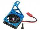 Tamiya M03 /M03M /M03L Aluminium Motor Heatsink W/ Cooling Fan - Light Blue Color - 3Racing M03M-09/LB