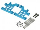 Tamiya M03 /M03M /M04L /M04M /M05 /M06 PRO /FF02 Aluminium Rear Lower Suspension Arms - Light Blue Color - 3Racing M03M-10/LB