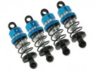 Tamiya M03 /M03M /M03L /M04L /M04M Aluminum Damper Set - Light Blue Color - 3Racing M03M-13/LB