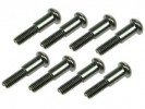 Tamiya M03 /M03M /M04M /M05 /TT01 /TT01 Type E Step Screw - Heavy Duty (10 Pcs) - 3Racing M03M-19/HD