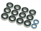 Tamiya M03 /M03L /M04M /FF02 Ball Bearing Set (2RS) - 3Racing M04M-05
