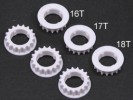 Tamiya TA05 TA-05IFS TA05-R Center Bulk Pulley Gear 16T, 17T and 18T - 3RACING TA05-21A