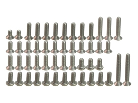 Tamiya TB-03 TB03 Titanium Screw Set - 3RACING TS-TB03/V1