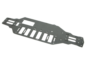 Tamiya TT-01 Type-E Option Replacement Graphite Main Chassis For #TT01-E35/V2/WO - 3Racing TT01-E35D/WO