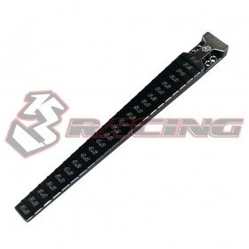 3RACING Step Guage 3.0-7.4mm - Black - ST-005/V2/BK
