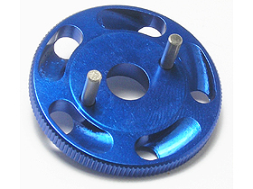 Traxxas Revo Light Weight Cooling Fly Wheel - Blue Color - 3RACING RE-026/B