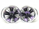 Traxxas Revo HPI Savage 21 /HPI Savage 25 /Traxxas Revo Ton Wheel 40 Series - Wide Offset ( 1 Pairs ) - Purpler Color - 3RACING RE-043/P2