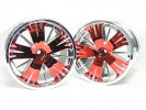 Traxxas Revo HPI Savage 21 /HPI Savage 25 /Traxxas Revo Ton Wheel 40 Series - Wide Offset ( 1 Pairs ) - Red Color - 3RACING RE-043/R2